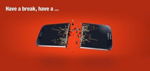 Have a break: Nokia prende in giro il nuovo sistema KitKat Android 4.4