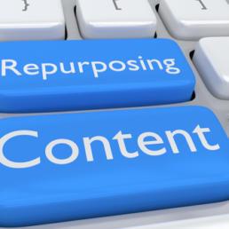 Repurposing content, ovvero come dare nuova vita ai contenuti
