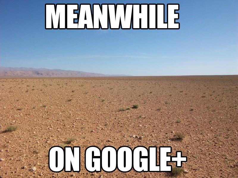 """Google Plus meme"""