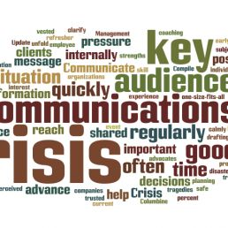 crisis communications.