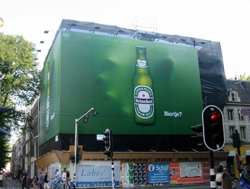 guerrilla marketing Heineken