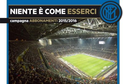 Campagne abbonamenti 2015-2016: slogan da Serie A