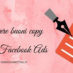 Avete problemi a scrivere i copy per le vostre Facebook Ads? Ecco tre piccoli suggerimenti da cui partire.