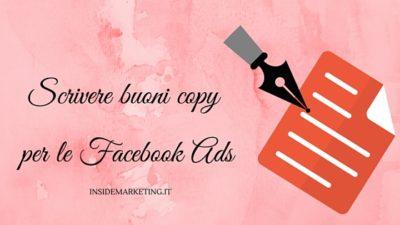 Facebook Ads: come scrivere un copy efficace