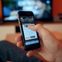 stories sui social nuova tv