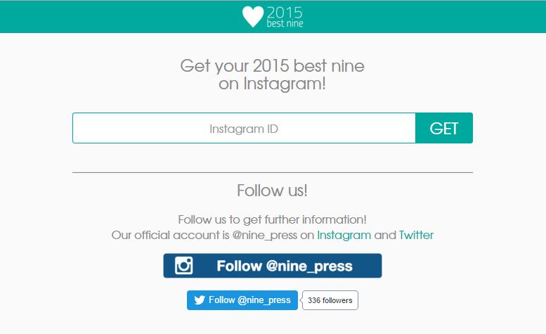 #BestNine, mosaico di 9 foto scelto da Instagram per celebrare l'anno degli utenti.