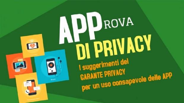 app a prova di privacy i consigli del garante
