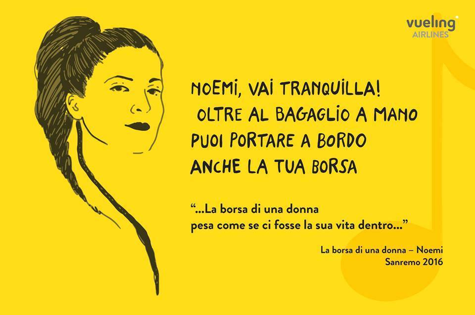 instant marketing #sanremo2016 Vueling