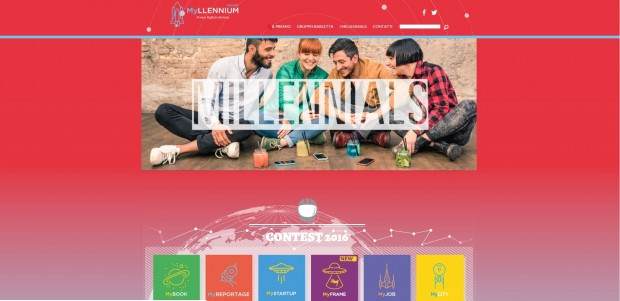Contest per Millennials: il MYllennium Award 2016