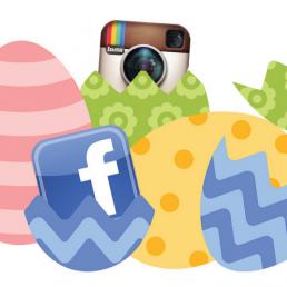 Da un'analisi è emerso che nel giorno di Pasqua, lo scorso anno, è aumentato il desiderio di condivisione sui social network.