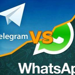 App di messaggistica: Telegram o WhatsApp?