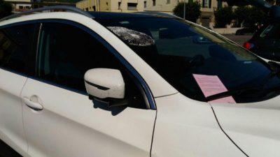 Multe e danni alle auto a Cava de' Tirreni? No, solo guerrilla marketing!