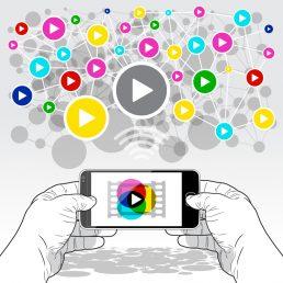 Le piattaforme mobile si stanno impegnando a contrastare la supremazia di YouTube: ci troviamo di fronte ad una rivoluzione del video mobile.