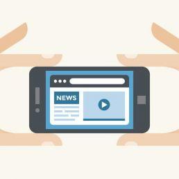 Come l'informazione fronteggia le sfide del digitale? Dagli accessi mobile all'importanza dei social: 10 trend secondo il Pew Research Center.