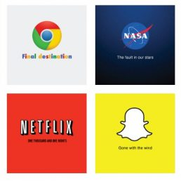 In Brand Meets Movie Andrea Erali ha sostituito gli slogan dei brand con titoli di film o libri. Perché? Ce lo spiega in un'intervista.