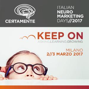 a seconda edizione di Certamente, evento sul neuromarketing, a Milano il 2-3 marzo