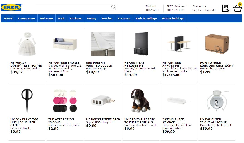 Ikea Retail Therapy SEO