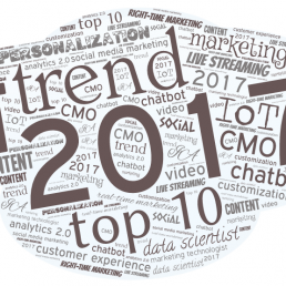 Il 2017 è alle porte: quali i trend che caratterizzeranno il marketing?