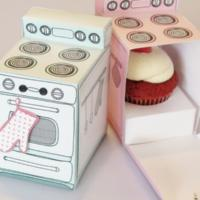 packaging alimentare cupcake