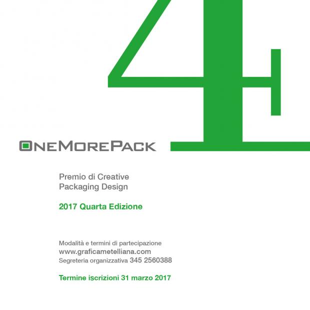 One More Pack 2017: premio sul Packaging Design Cartotecnico