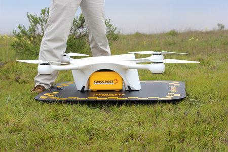 swiss drone