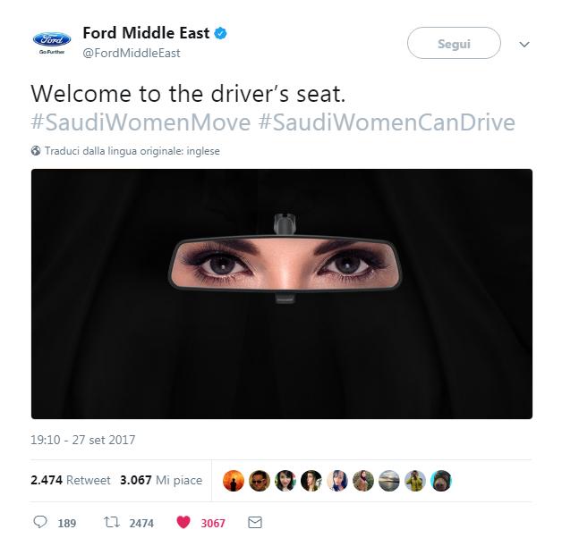 real time marketing di ford arabia saudita