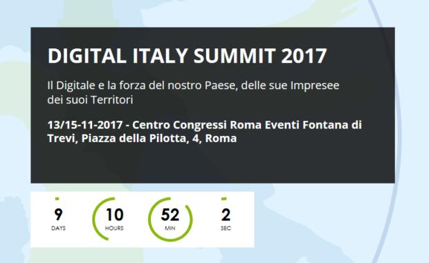Digital Italy Summit 2017