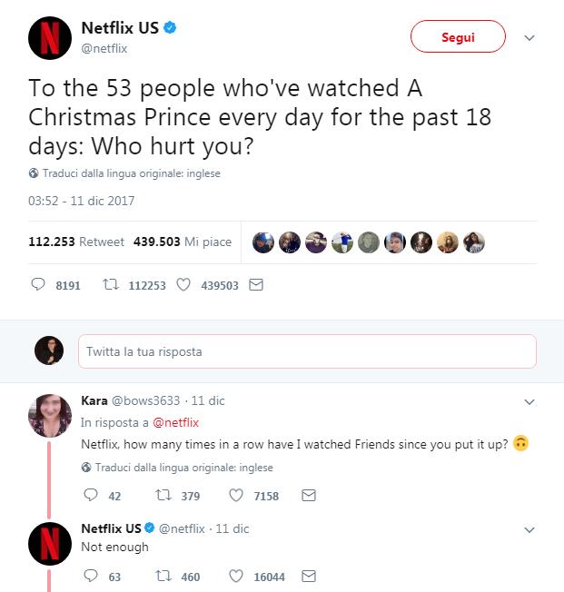 rude social media marketing netflix
