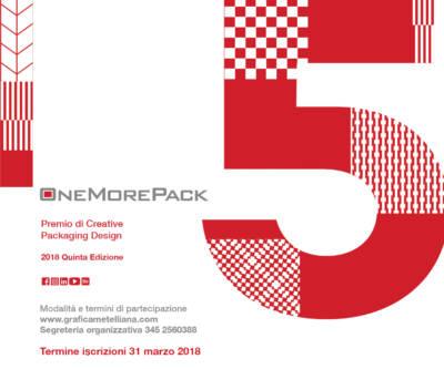 OneMorePack 2018: premio sul Packaging Design Cartotecnico