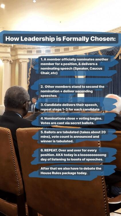strategia social di Alexandria Ocasio Cortez storie su Instagram carriera politica