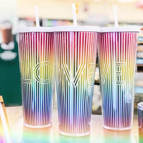 iniziative dei brand per i pride 2019 Starbuck's