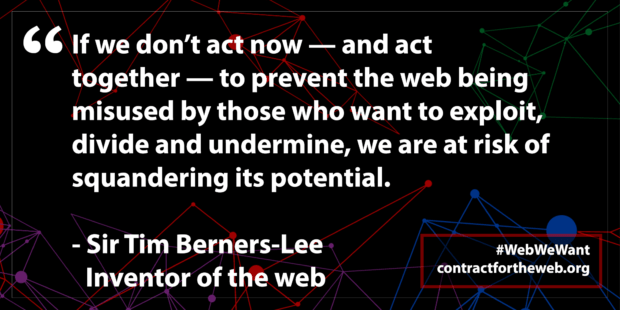 contract for the web tim berners lee