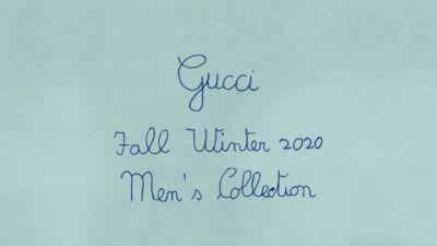 Sulla passerella della sfilata Gucci Autunno Inverno 2020 l'uomo è tenero e un po' bambino (per provocazione)