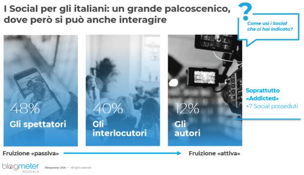 italiani e social media 2020 perché stiamo in Rete