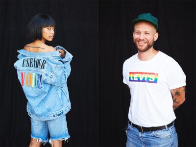 """""""Use your voice"""": l'invito e la nuova campagna di Levi's per il mese del Pride 2020"""