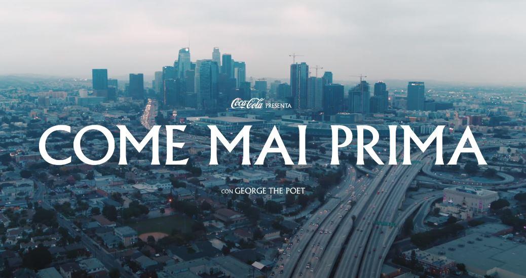 Titolazione del nuovo spot Coca Cola 2020