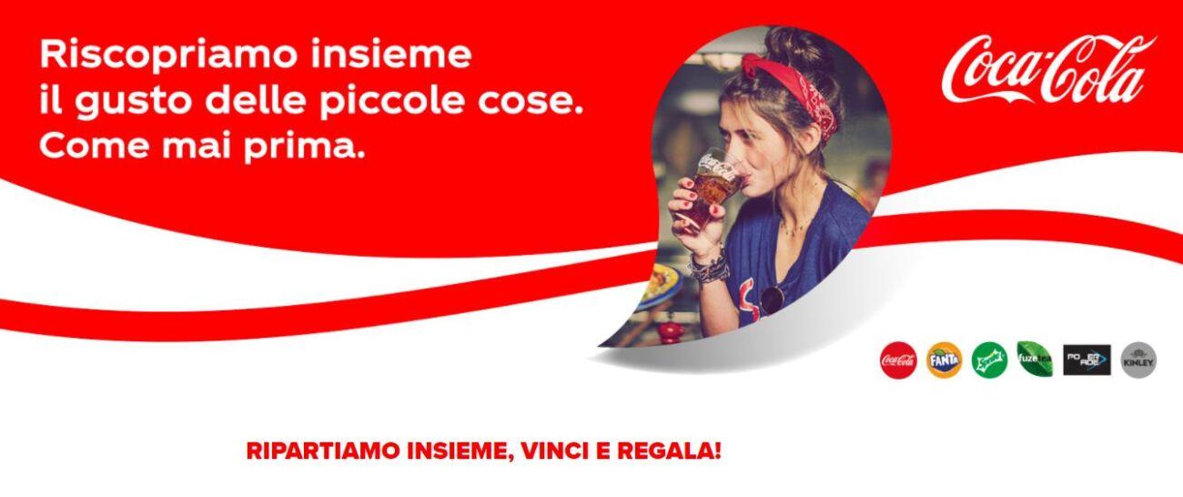 ripartiamo insieme: iniziativa Coca Cola 2020