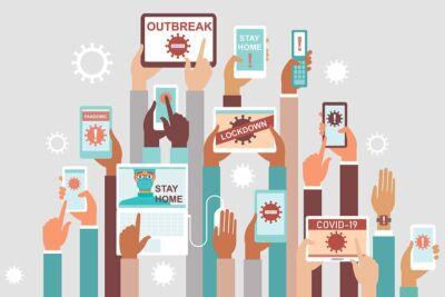 Più ascolti, più fiducia nei media professionali ma anche più disinformazione e meno pubblicità: un osservatorio su media e coronavirus