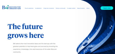 """""""Bocconi for Innovation"""" premia le idee più innovative e offre nuove opportunità alle startup"""