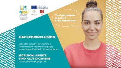 """""""HackForInclusion"""": contributi economici per realizzare campagne di sensibilizzazione"""