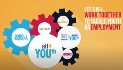Le aziende contro la disoccupazione giovanile: Nestlé Needs YOUth per dare nuove opportunità lavorative agli under 30