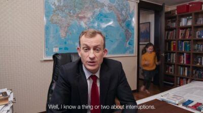 Così Twitter ha scelto l'analista della BBC interrotto in diretta dai figli come testimonial di alcune nuove impostazioni
