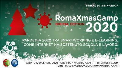 Un BarCamp tutto online: il RomaXmasCamp 2020
