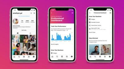Dashboard per professionisti: in arrivo su Instagram un nuovo strumento per brand e creator