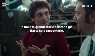Nel nuovo spot Netflix si celebrano le produzioni originali italiane (e il potere dello storytelling)