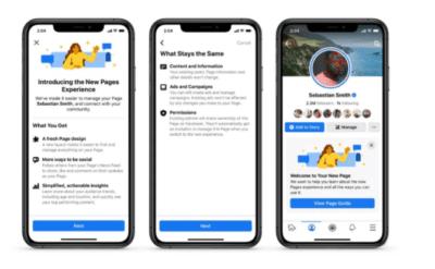 Novità dal mondo Facebook: come cambiano le pagine dei creatori di contenuti e delle figure pubbliche