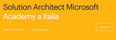 Al via le candidature per l'Academy di Randstand Technologies e Microsoft Italia