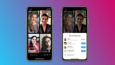 Instagram Live Rooms: fino a quattro partecipanti per le dirette Instagram