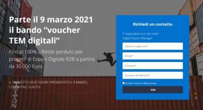 Voucher TEM digitali: un programma per le piccole imprese italiane