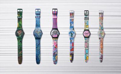 Sei orologi in edizione speciale riproducono i capolavori del MoMA: Swatch celebra design e gusto del bello nella vita di tutti i giorni